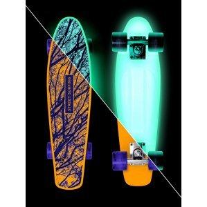 Skateboard Street Surfing BEACH BOARD Glow Mystic Forest