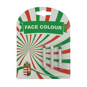 Barvy na obličej Maďarsko 3, tužky