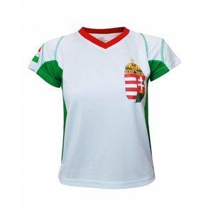 Fotbalový dres Maďarsko 2 chlapecký Oblečení velikost: 146-152