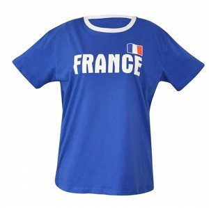 Fan. triko Francie 1 pánské vel.UNI
