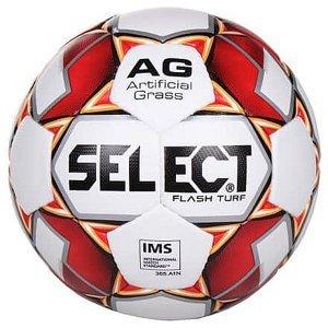 FB Flash Turf fotbalový míč bílá-červená Velikost míče: č. 5