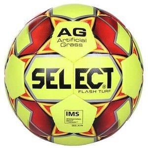 FB Flash Turf fotbalový míč žlutá-červená Velikost míče: č. 4