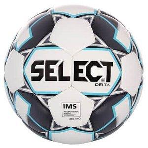 FB Delta fotbalový míč bílá-šedá Velikost míče: č. 3
