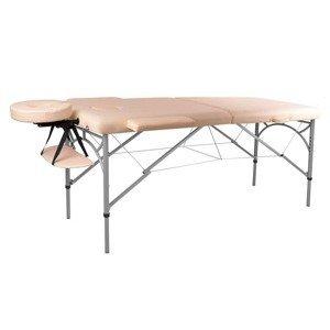 Masážní stůl inSPORTline Tamati 2-dílný hliníkový Barva černá