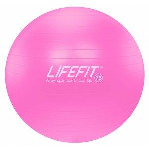 Gymnastický míč LIFEFIT ANTI-BURST 75 cm, růžový
