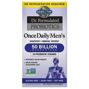 Dr. Formulated - probiotika pro muže - 50 miliard CFU 30cps