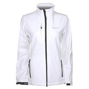 SBD-2 dámská softshellová bunda barva: bílá;velikost oblečení: XS