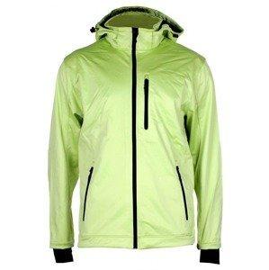 SBP-4 pánská softshellová bunda zelená sv. Velikost oblečení: M