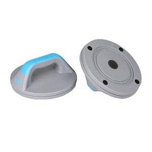 Opěrka na kliky plastová modrá