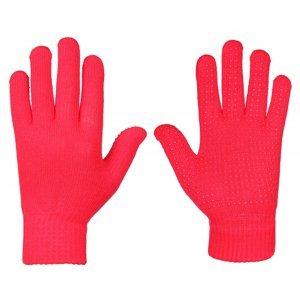 rukavice pletené barva: žlutá;velikost oblečení: L-XL