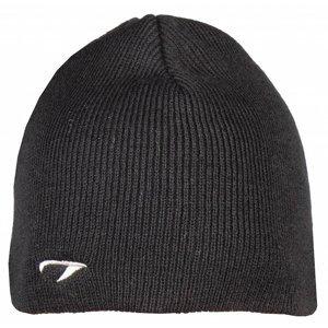 čepice pletená barva: antracitová
