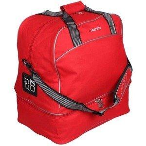 fotbalová taška FBS dvojité dno barva: červená