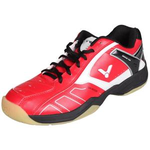 SH-A310 halová obuv barva: červená-černá;velikost (obuv / ponožky): UK 10