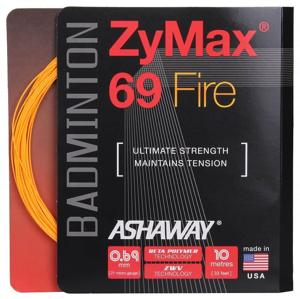 ZyMax 69 Fire badmintonový výplet, 10 m barva: bílá