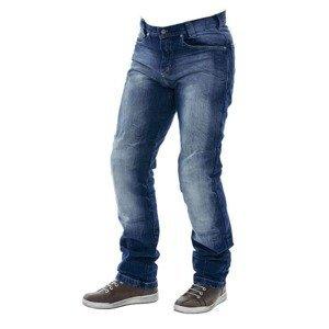 Pánské moto jeansy City Nomad Jack Iron Barva modrá, Velikost S