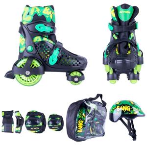 Action Darly Boy Barva zeleno-černá, Velikost XS (26-29)
