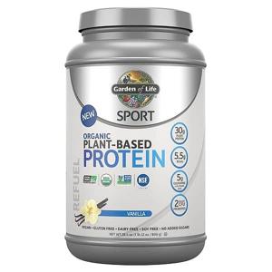 Sport Organic Plant-Based Protein - Vanilka
