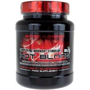 Scitec Hot Blood 3.0 300 g 300g Modrá Guarana