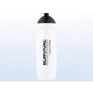Sportovní láhev Bidon Survival Transparent 750ml