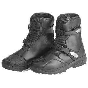 Moto boty KORE Adventure Mid Barva černá, Velikost 46