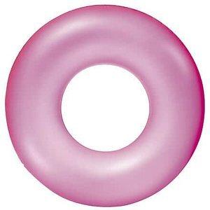 Neon 36024 nafukovací kruh růžová