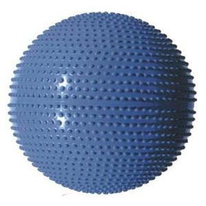 Gymnastický míč MASÁŽNÍ 65 modrá - modrá