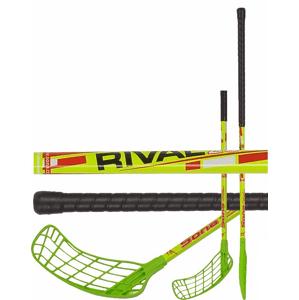 Florbalová hůl Sona Rival 95cm pravá zelená/žlutá
