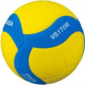Míč volejbalový MIKASA VS170W - Modrá