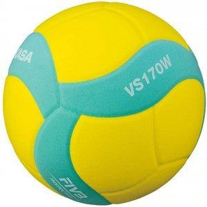 Míč volejbalový MIKASA VS170W - Zelená