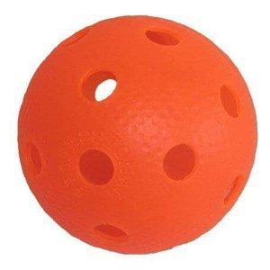 Florbalový míček PROFESSION barevný SPORT 2020 oranžový - oranžová