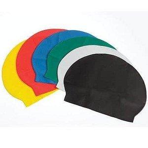 Koupací čepice LATEX EFFEA černá - světle zelená