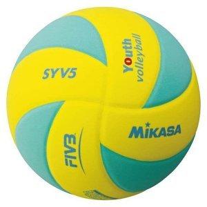 Míč volejbalový KIDS MIKASA SYV5 - zelená