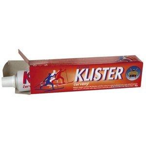 Běžecký vosk KLISTER červený - červená