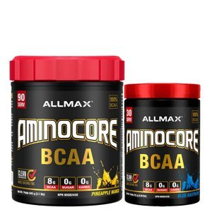 Allmax Aminocore Příchutě: Růžový grep, Hmotnost: 945g