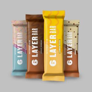 MyProtein 6 Layer Protein Bar Hmotnost: 70g, Příchutě: Čokoládový Milkshake