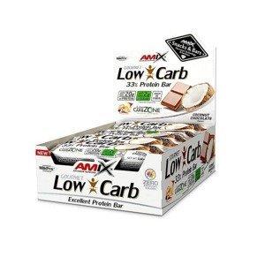Amix Low-Carb 33% Protein Bar Příchuť: Vanilla-Almond, Balení(g): 15x60g
