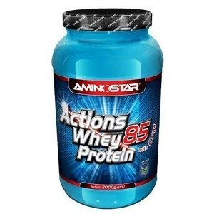 Aminostar Whey Protein Actions 85% Příchuť: Banana, Balení(g): 1000g