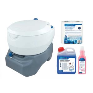 Chemická toaleta Campingaz 20L Portable Toilet Combo + příslušenství 2000031425