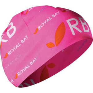 Multifunkční šátek ROYAL BAY neon pink 3099