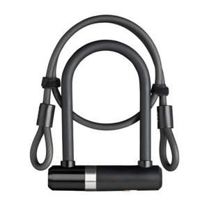 Zámek AXA Newton Mini 150/14 + kabel 100/8 klíč černý 59502795SS
