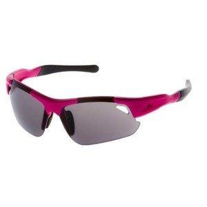 Cyklistické sportovní brýle Rogelli RAPTOR s výměnnými skly, růžové 009.238.
