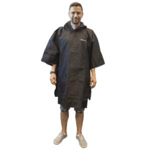 Pláštěnka TREKMATES Essential Poncho černá