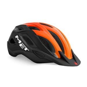 Helma MET Crossover černá/oranžová