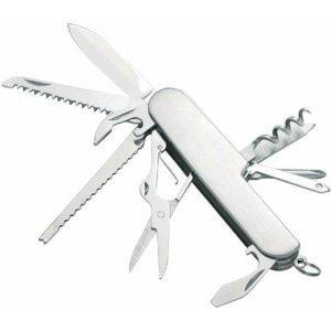 Multifunkční nerezový nožík Ferrino COLTELLINO 11 FUNZIONI