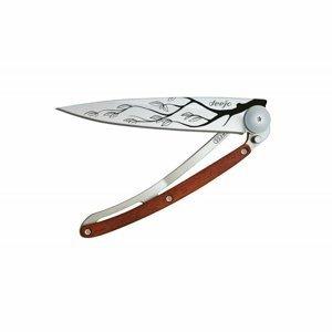 Kapesní nůž Deejo 9CB101 Coralwood, 27g, Tree