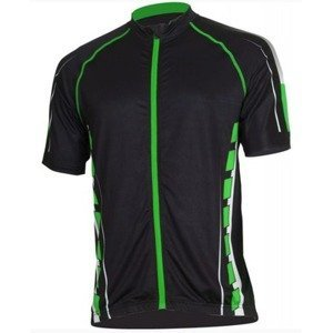 Pánský cyklistický dres Bizioni MD62 černá zelená