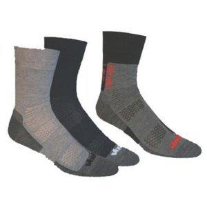 Ponožky Vavrys Light Trek Coolmax  3 páry 28325 S (34-36)