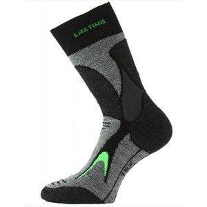 Trekingové ponožky Lasting TRX 906 šedá S (34-37)
