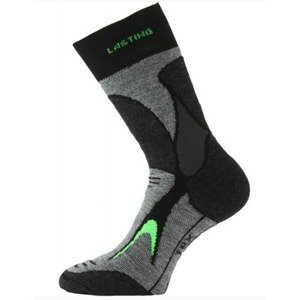 Trekingové ponožky Lasting TRX 906 šedá XL (46-49)