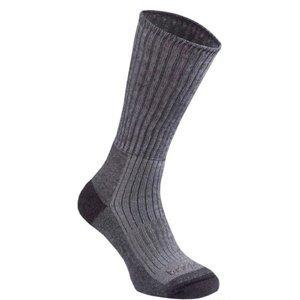 Ponožky Bridgedale MerinoFusion Trekker MM taupe/927 XL (12,5-14,5)